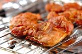 鶏肉のチーズのせ照り焼きの作り方1