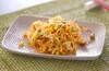納豆のかき揚げの作り方の手順