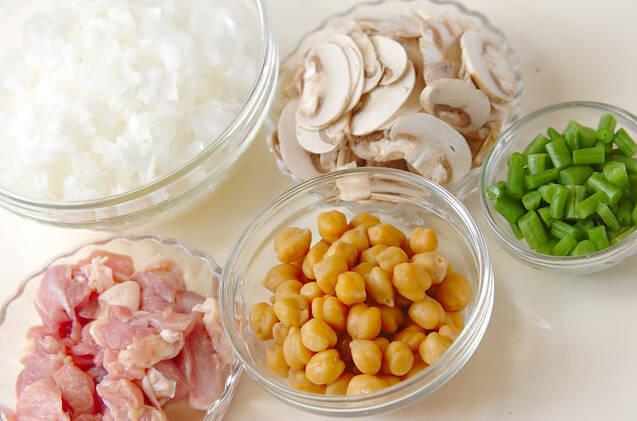 ヒヨコ豆入りピラフの作り方の手順3