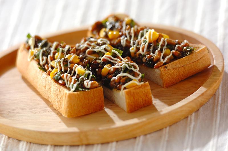 2.納豆トースト