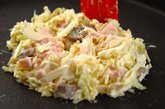 明太子チーズのお好み焼きの作り方3