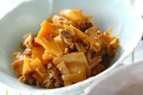 タケノコとアサリの佃煮