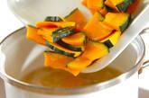 カボチャとニンジンの豆乳スープの作り方3