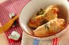 肉巻きリンゴのクリーム煮の作り方の手順