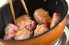 肉巻きリンゴのクリーム煮の作り方の手順3