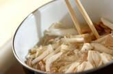 ゆでキノコのマリネの作り方5