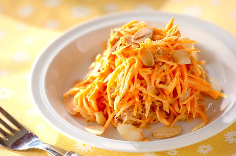 にんじんとツナのカレーサラダ