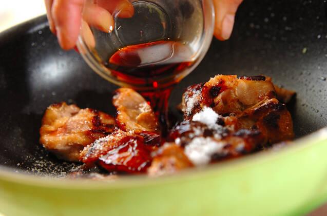 鶏肉のショウガ焼きの作り方の手順5