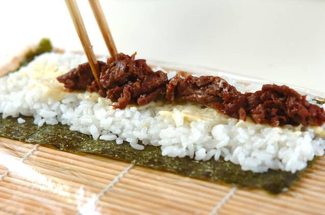 細巻き寿司の作り方の手順8