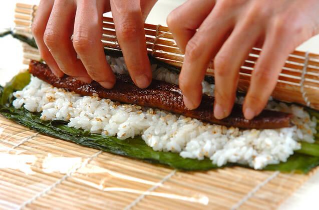 細巻き寿司の作り方の手順6