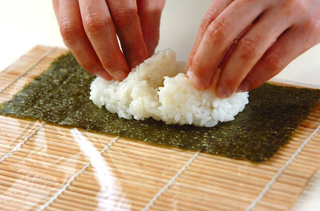 細巻き寿司の作り方の手順7