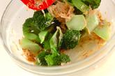 ブロッコリーのおかかマヨ和えの作り方1