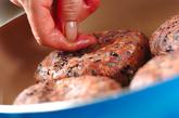 黒米ハンバーグの作り方3