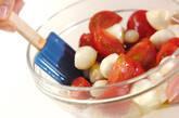 トマトとらっきょうの前菜の作り方4
