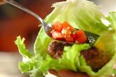 シシカバブと焼き野菜の菜包みの作り方9
