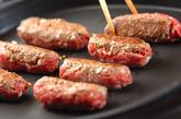 シシカバブと焼き野菜の菜包みの作り方2