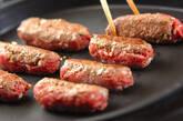 シシカバブと焼き野菜の菜包みの作り方6