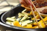 シシカバブと焼き野菜の菜包みの作り方8