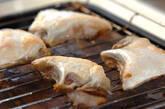 魚のカマのシンプル塩焼きの作り方4