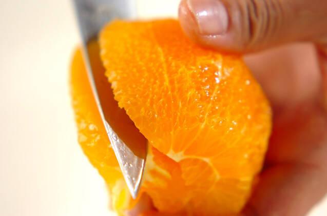 しゅわしゅわオレンジミントの作り方の手順1