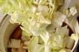 白菜とゴボ天のサッと煮の作り方2