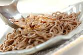 豚シャブ納豆冷やしそばの作り方4