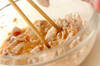 豚シャブ納豆冷やしそばの作り方の手順2