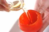 エビのトマトカップサラダの作り方1