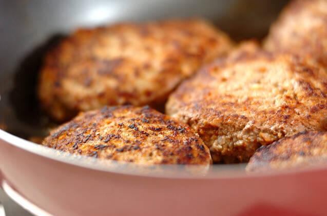 キノコハンバーグの作り方の手順6