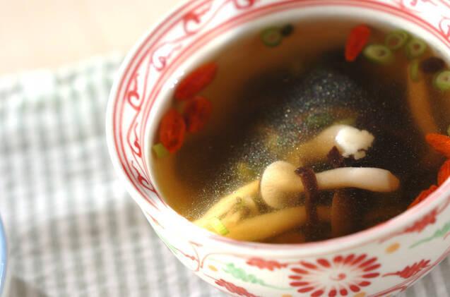 キクラゲの中華スープ
