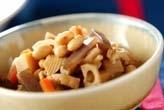 大豆の六目煮