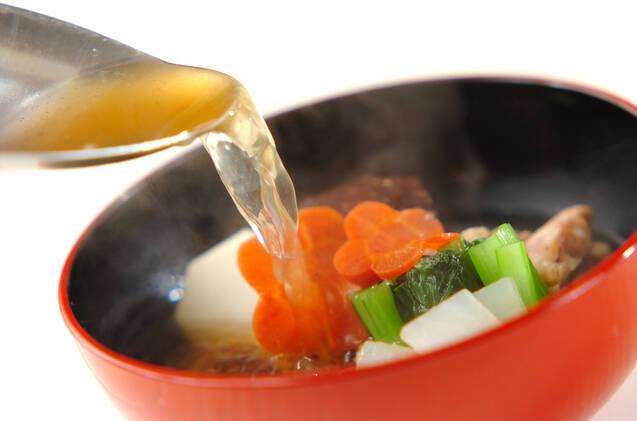 お雑煮(すまし)の作り方の手順9