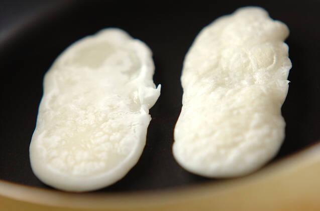焼き白玉のおやつの作り方の手順1