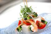 豆腐のサラダの作り方8