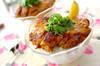 タンドリーチキン丼の作り方の手順