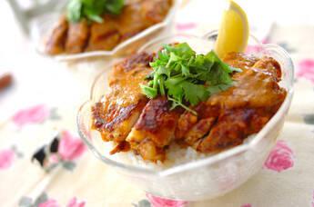 タンドリーチキン丼