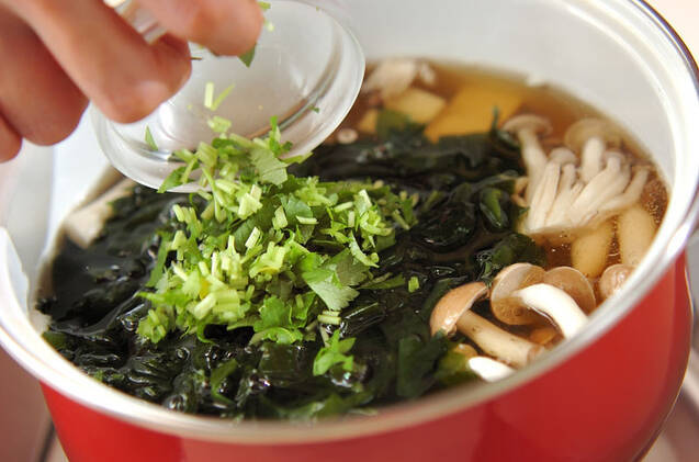 豆腐のお吸い物の作り方の手順5