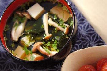 豆腐のお吸い物