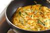 アサリとニラの卵焼きの作り方の手順4
