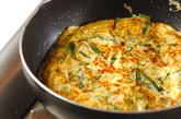 アサリとニラの卵焼きの作り方4