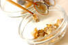 アサリとニラの卵焼きの作り方の手順2