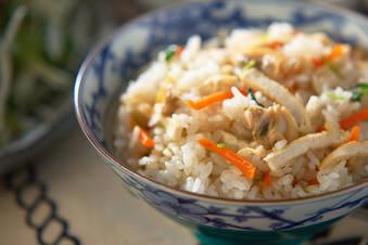 絶品ダシのアサリの炊き込みご飯