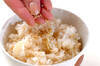 ホタテの炊き込みご飯の作り方の手順5
