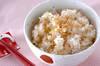 ホタテの炊き込みご飯の作り方の手順