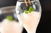 シャンパンのグラニテの作り方4