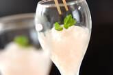 シャンパンのグラニテの作り方6