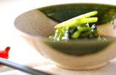 青菜の中華和え