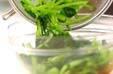 青菜の中華和えの作り方3