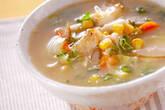 タラ・みそ味のスープの作り方5
