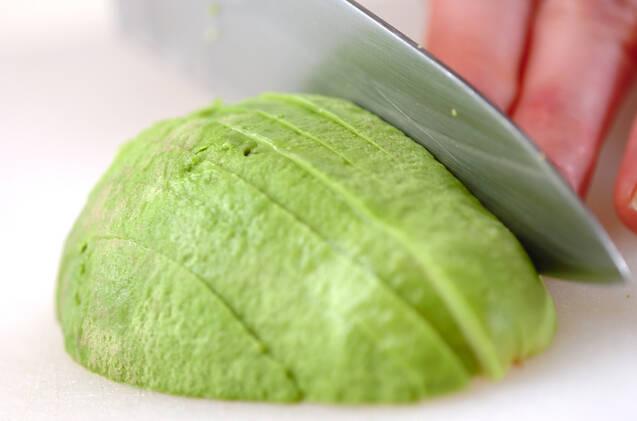 ポークランチョンミート寿司の作り方の手順3